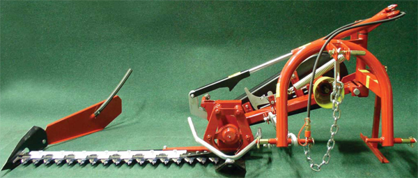 Sickle bar mower junior BF MJ for small tractors